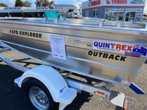 Quintrex 370 Explorer Outback Package L/S