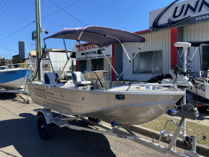 USED 2009 STACER 399 PROLINE WITH 30HP MERCURY 2-STROKE