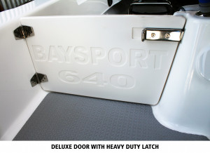 Baysport 640 Fisherman Deluxe + Yamaha F150hp 4-stroke package