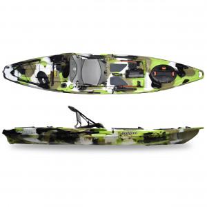 Brand new Feel Free Moken 12.5 V2 sit on top fishing kayak with rudder