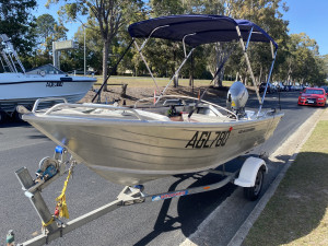 USED 2016 HORIZON 420 ALLROUNDER  WITH 30HP HONDA 4-STROKE