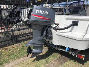 USED 1999 QUINTREX 500 FREEDOM SPORT WITH 90HP YAMAHA FOR SALE