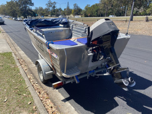USED 2010 ALLY CRAFT 425 REEL MATE WITH 2010 SUZUKI DT40 2-STROKE