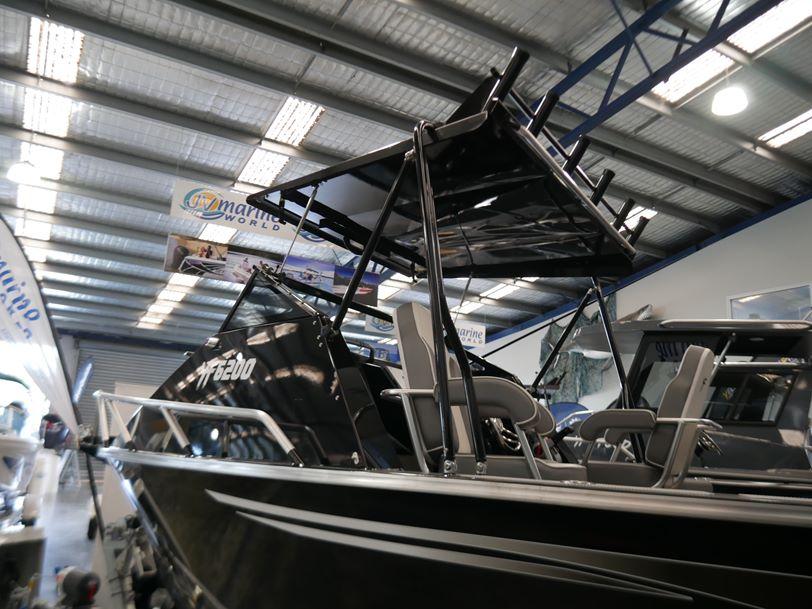 YELLOWFIN 6200 FOLDING HARD TOP - PLATE OFFSHORE FISHING BOAT