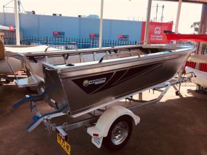 Brand new Horizon 450 Easyfisher open tiller steer aluminium boat