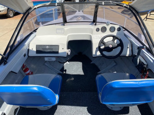 Ally Craft 435 Intruder & Yamaha 40hp Oil Injected Two Stroke