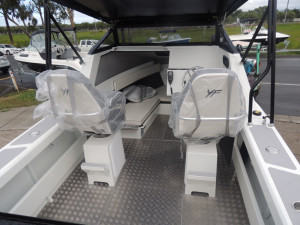 This New 5800 Yellowfin Folding Hard Top has most of what you would need our Pack 4