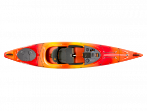 Brand new Wilderness Systems Pungo 120 sit in touring kayak.