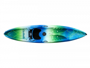 Brand new Perception Tribe 11.5 recreational sit on top kayak with built in seating system.