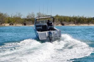 Brand new Horizon 585 Getaway Gridcore heavy duty plate aluminium cuddy cabin