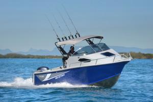 Brand new Horizon 6.25 Getaway Gridcore plate aluminium cuddy cabin.