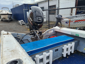4m Savage runabout , trailer & 2020 30hp 4 stroke Mercury 3mths old