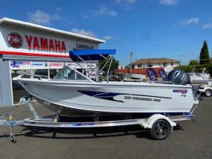 Quintrex 520 Fishabout Pro with Yamaha 115HP