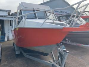 2001 Sea Rider 5.3m plate boat with 140hp Suzuki 4 stroke