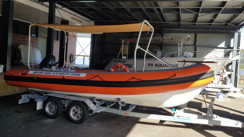 AB Navigo Vs 19-fibre glass hull-  Inflatable RIB