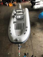 Aurora Reef Rider 380 CL aluminum console RIB