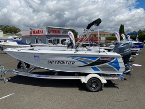 Quintrex 510 Frontier SC fitted with Yamaha 115hp