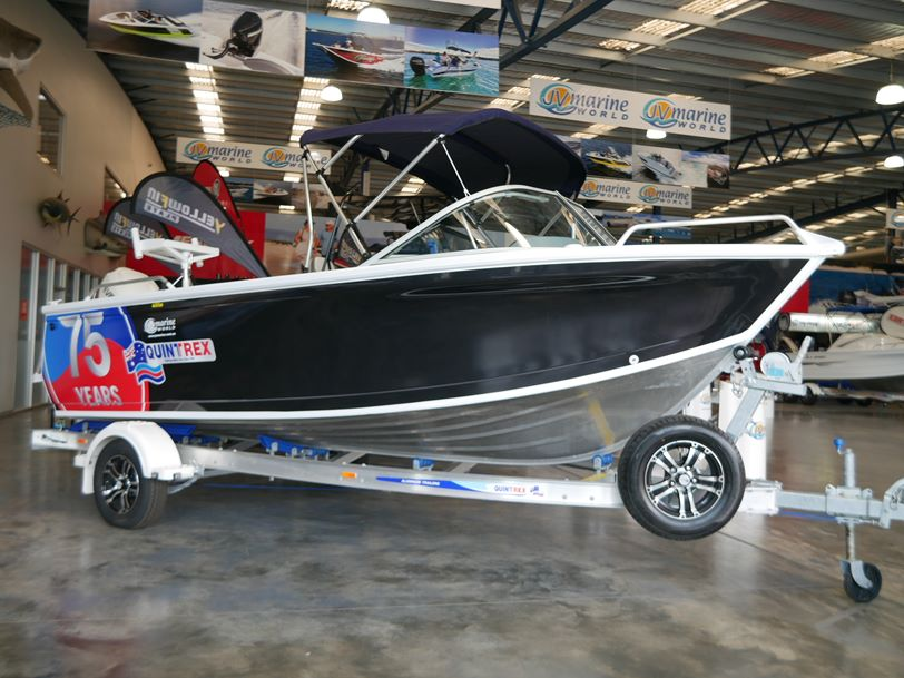 Quintrex 520 Fishabout Pro - Runabout