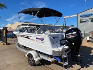 Quintrex 490 Fishabout + Mercury 60hp EFI Four Stroke