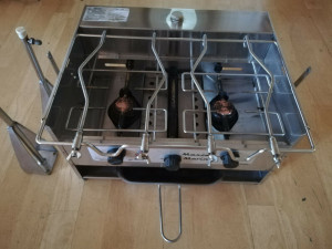Maxie Metho Stove 3 Burner