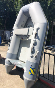 Used Genuine Zodiac 260 Fast Roller Airdeck in excellent condition.
