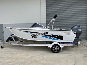 Stacer 499 Wild Rider Yamaha F90 2021 Model