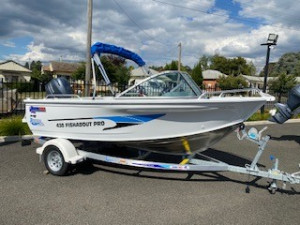 QUINTREX 430 FISHABOUT PRO with 60hp