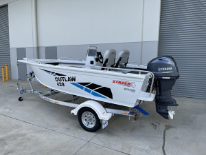 Stacer 429 Outlaw Side Console Yamaha F50 2021 Model