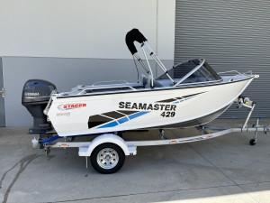 Stacer 429 Sea Master Yamaha F50 2022 Model