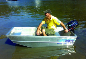 Brand new SeaCraft Mini Tinny 210 aluminium boat reduced from $1399 to only $1199!!!