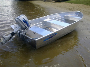 rand new SeaCraft Skipper 330 V bottom aluminium boat reduced from $1949 to $1749.