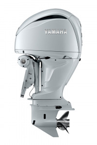 F300USB2 DES(Digital Electric Steering) Pearlescent White Yamaha 4 Stroke 300hp Ultra-Long Shaft EFI OUTBOARD FOR SALE