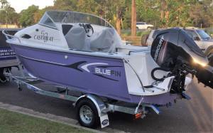 New 5.8 Blue Fin Castaway  with 115hp  4-stroke