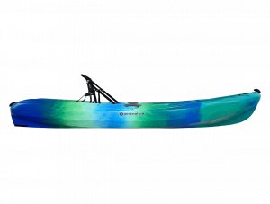 Brand new Perception Tribe 9.5 recreational sit on top kayak with built in framed seating system.