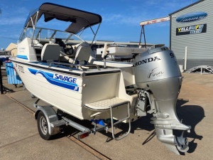 Savage 525 Osprey + Honda 90hp Four Stroke