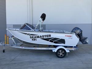 Stacer 481 Sea Master Yamaha F70 2022 Model