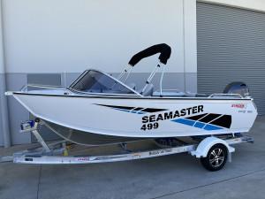 Stacer 499 Sea Master Yamaha F90 2021 Model