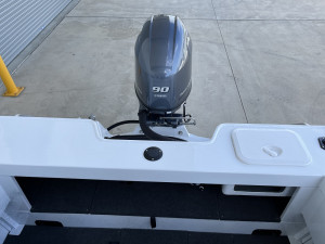 Stacer 499 Crossfire Side Console Yamaha F90 2021 Model