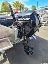 20hp Mercury four stroke efi electric start and power trim