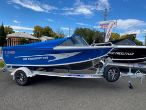 Quintrex 450 Fishabout Pro with 75hp