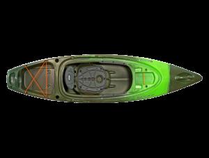 Brand new Perception Sound 9.5 sit in recreational kayak.