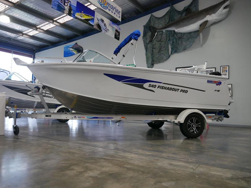 Quintrex 540 Fishabout - Runabout