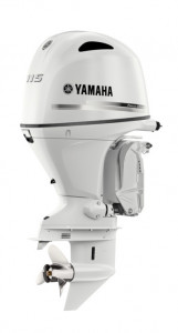 F115XB Yamaha Pearlescent White 4 Stroke 115hp Extra-Long Shaft EFI OUTBOARD FOR SALE