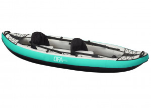 Brand new DFA Sports Colorado 2 person inflatable kayak package.