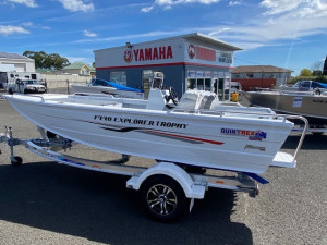QUINTREX 440 EXPLORER TROPHY  SIDE CONSOLE with Yamaha 60hp