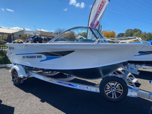QUINTREX 481 FISHABOUT PRO with 90hp Yamaha