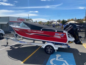 Quintrex 481 Fishabout  with 75hp Mercury 4 stroke