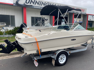 USED 2008 SEA RAY 175 SPORT BOWRIDER WITH 3.0LT MERCRUSIER (96Hrs)