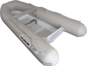 Brand New Nordik 3.1m fibreglass rigid hull inflatable boat with welded seams reduced from $3499 to $3199 with a free boat cover!