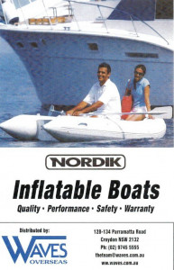 Brand new Nordik 320 ALU floor inflatable boat with welded seams reduced from $2599 to $2299!